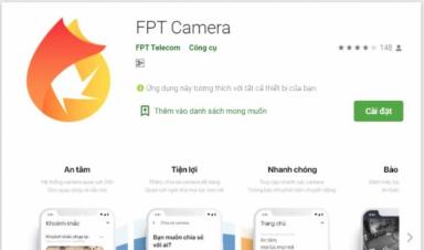 Cách cài Camera FPT trên điện thoại di động