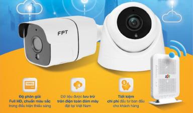Lắp đặt Camera FPT quan sát an ninh tại Cà Mau