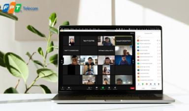 OnMeeting cho phép 1000 người cùng tham gia một phòng họp trực tuyến