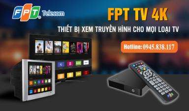 Thiết bị Box 4K cho Truyền hình FPT