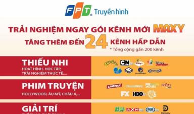 Truyền hình FPT cập nhật danh sách kênh mới nhất 4/2021